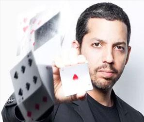 David Blaine incroayble magicien américain